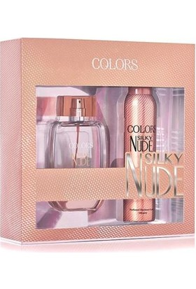 Rebul Colors Blush Edt 75 Ml Kadın Parfüm + Deo Set