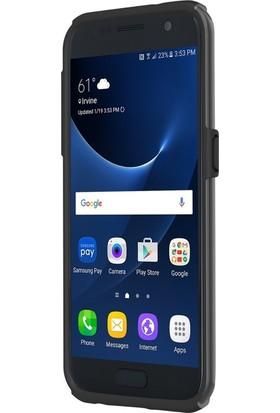 Incipio Dualpro Tasarım Samsung Galaxy S7 Arka Kapak Işıltılı Siyah