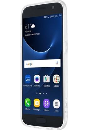 Incipio Isla Tasarım Samsung Galaxy S7 Arka Kapak Şeffaf Gümüş
