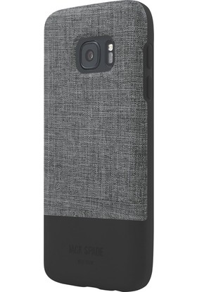 Jack Spade Samsung Galaxy S7 Arka Kapak Grı-Siyah