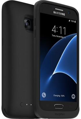 Mophie Samsung Galaxy S7 Şarjlı Arka Kapak Siyah