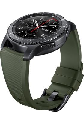Samsung Yeşil Silikon Gear S3 Kayış