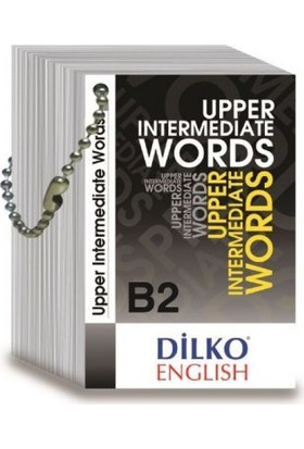 Dilko B2 Upper Intermediate Words Kelime Kartı