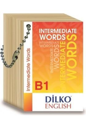 Dilko B1 Intermediate Words Kelime Kartı
