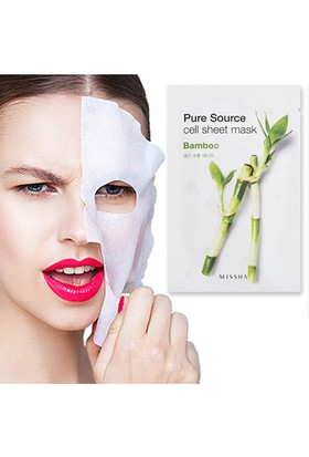 Missha Pure Source Cell Sheet Mask (Bamboo)
