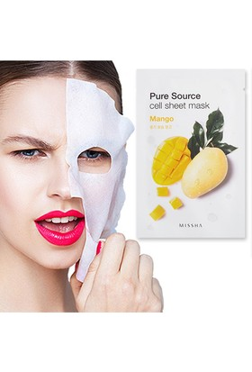 Missha Pure Source Cell Sheet Mask (Mango)