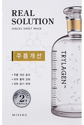 Missha Real Solution Tencel Sheet Mask (Wrinkle Caring) 25 Gr