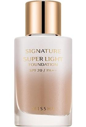 Missha Signature Super Light Foundation_C23