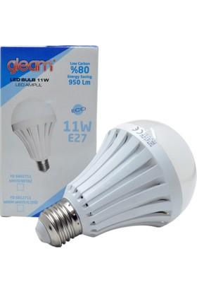 Gleam 11W Led Ampul (Gün Işığı) E27