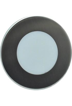 Erkled 1.5W Sıva Altı Yuvarlak Led Spot Sensörlü Koridor Armatürü (Mavi Işık)