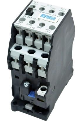 Esem 5.5Kw (12A) Ac Kontaktör 2N0 2Nc