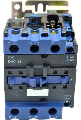 Flash 18Kw (38A) Ac Kontaktör 1N0 1Nc