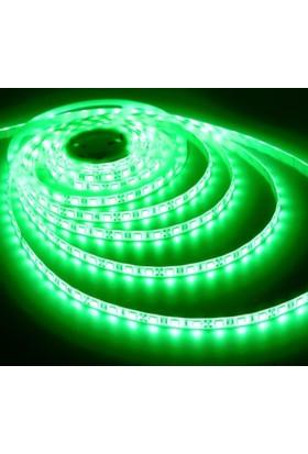 Fulllıght 3 Çip Dışmekan Silikonlu Şerit Led 12V (Yeşil) - 5Mt'Lik Paket