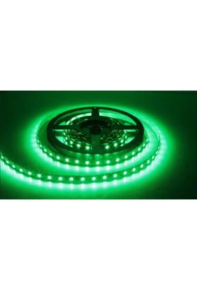Fulllıght 1 Çip Dışmekan Silikonlu Şerit Led 12V (Yeşil) - 5Mt'Lik Paket