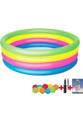 Bestway Renkli 4 Halkalı Çocuk Havuzu