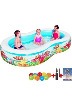 Bestway Jumbo Oval Balık Nemo Çocuk Havuzu