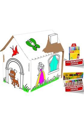 Trend Lisanslı Boyama Evi Çocuk Oyun Evi