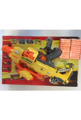 Raging Fire Barricade Rv10 Büyük Boy Oyuncak Tüfek Yumuşak Sünger Atan Tabanca Silah