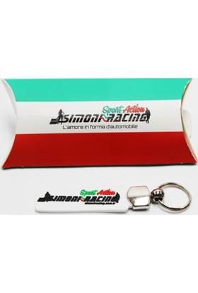 Simoni Racing Beyaz Sportif Anahtarlık 106180