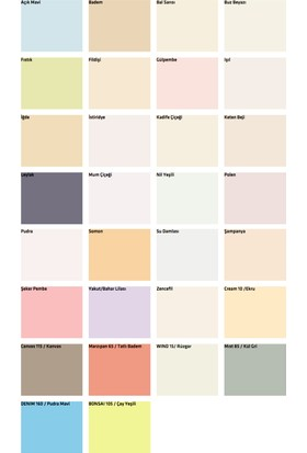 2019 Iç Cephe Boya Renkleri Ve Fiyatları 31 Indirim
