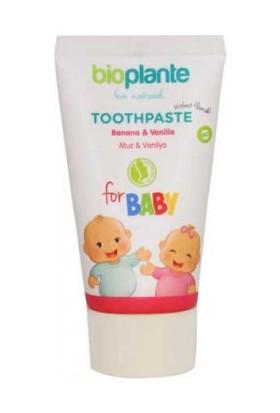 BioPlante Organik Florürsüz Bebek Diş Macunu 0-3 Yaş 50 ml.