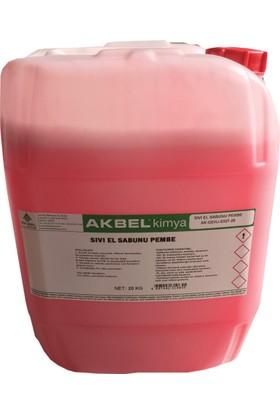 Akbel Sıvı El Sabunu Pembe 20 Kg