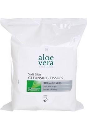 Lr Aloe Vera Yumuşak Temizleme Mendilleri