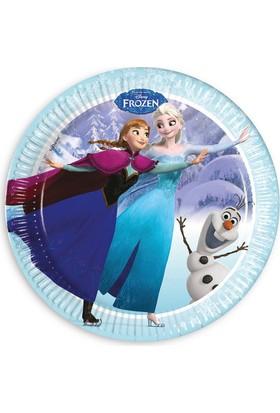 Siyah Lale Karlar Ülkesi Anna Elsa Frozen Parti Tabak