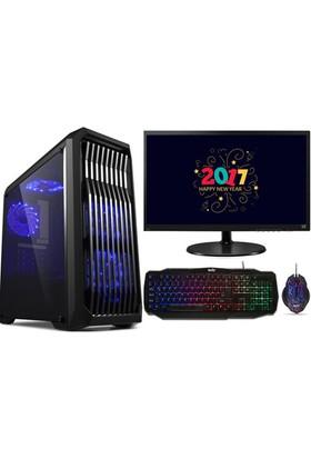 "Izoly K301 Intel Core i7 860 8GB 1TB GT730 Freedos 22"" Masaüstü Bilgisayar"