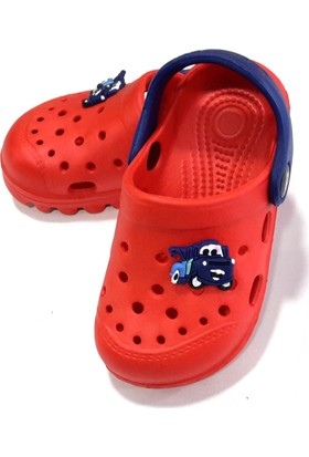 Hobi Store Arabalı Deniz Ayakkabısı Kırmızı