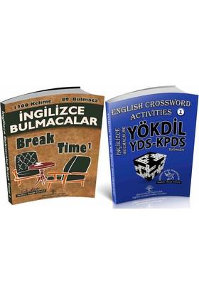Break Time ve YÖKDİL-YDS İngilizce Bulmaca Kitapları (2 Kitap)