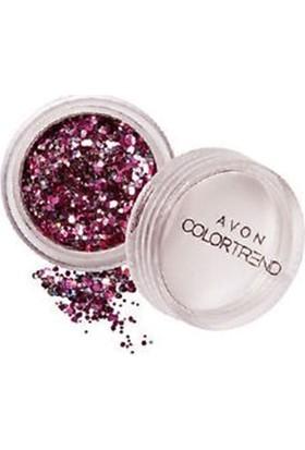Avon Glitter Pots Pembe Tırnak Pırıltıları