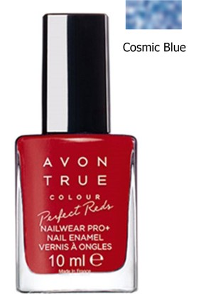 Avon True Colour Oje 10 Ml. Cosmic Blue