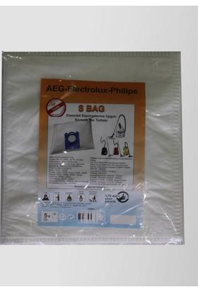 AEG Electrolux Philips S BAG Elektrikli Süpürge Toz Torbası