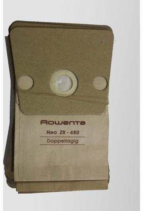 Rowenta Neo ZR 480 Doppellagig Süpürge Toz Torbası 10'lu paket