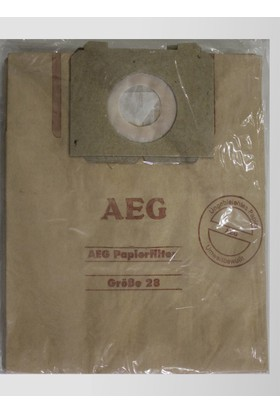 AEG Grobe 2326 Kağıt Süpürge Torbası