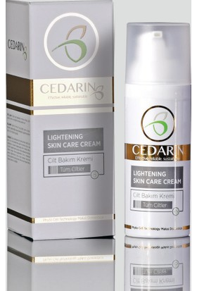 Cedarin Cilt Bakım Kremi Lıghtenıng Skın Care Cream 50 Ml