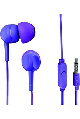 Hama Thomson EAR3005PL Mikrofonlu Kulakiçi Kulaklık Mor