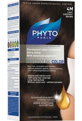 Phyto Color 4M - Açık Kahve Kestane Saç Boyası