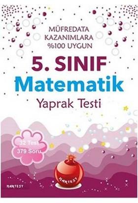 Nar Test 5. Sınıf Matematik Yaprak Testi