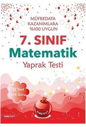 Nar Test 7. Sınıf Matematik Yaprak Testi