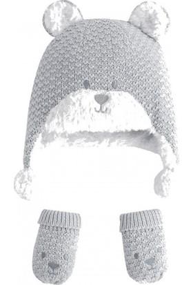 Mayoral 9343 Erkek Şapka - Eldiven Takımı