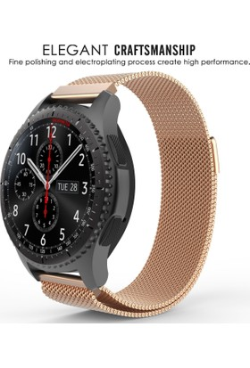 Ally Akıllıphone Samsung Gear S3 Metal Kayış Milano Loop