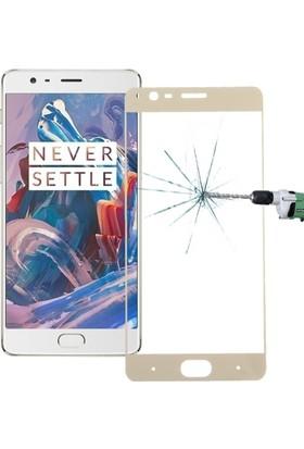 Ally Akıllıphone Oneplus 3 Full Kaplama Renkli Ekran Koruyucu