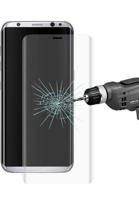 Ally Akıllıphone Samsung Galaxy S8+ Plus Curve Tam Govde Cam Ekran Koruyucu