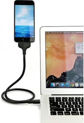 Ally Akıllıphone Apple iPhone 5 5S 5C 6 6S 6 7 Plus Lazy Acrobat Metal Usb Stand