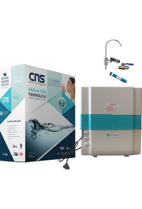 Cns YM327 6 Aşamalı Pompalı Su Arıtma Cihazı+Lüks Musluk+ 1 Yıllık Hediye Filtre