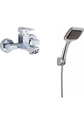 ACR Kare Banyo Bataryası + ACR Kare Duş Seti