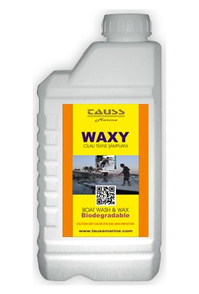 Tauss Waxy Cilalı Oto / Tekne Yıkama Şampuanı 1Lt