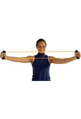 Msd O-Rıng Tube Loop Egzersiz Lastiği Hafif Sarı